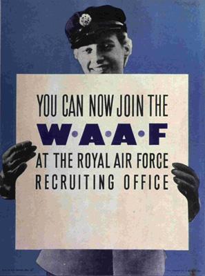WAAF Recuitment Poster RAF Museum FA10238